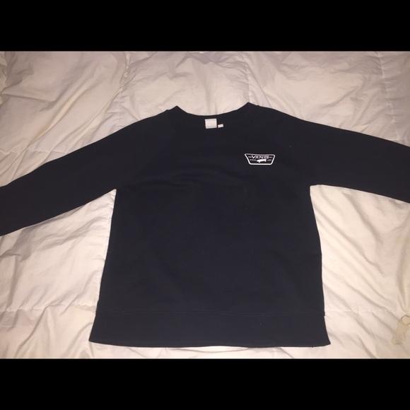 Vans Sweaters - Black vans crew neck